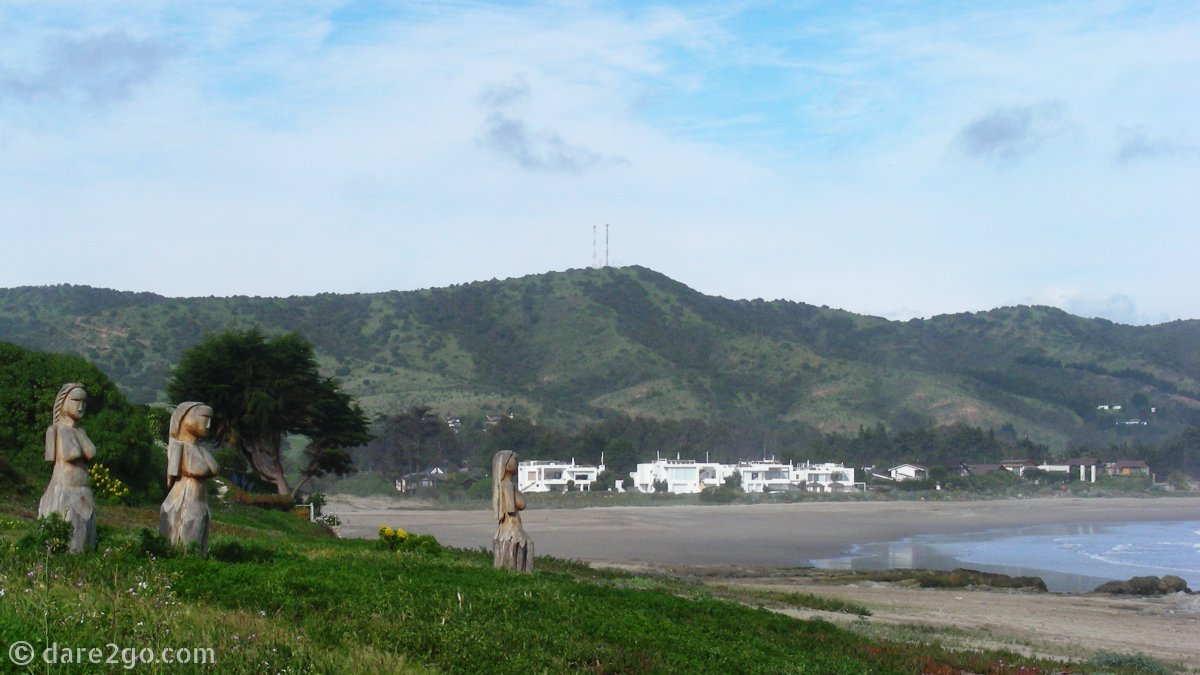 Canchagua: main beach