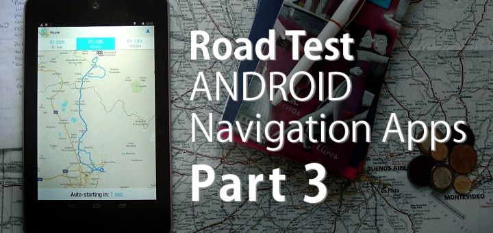 Android gps navigation - review part3