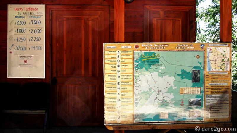 Parque Nacional Nahuelbuta - prices 2015
