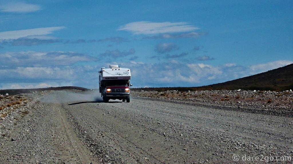 Driving Ruta 40, Argentina, in 2009