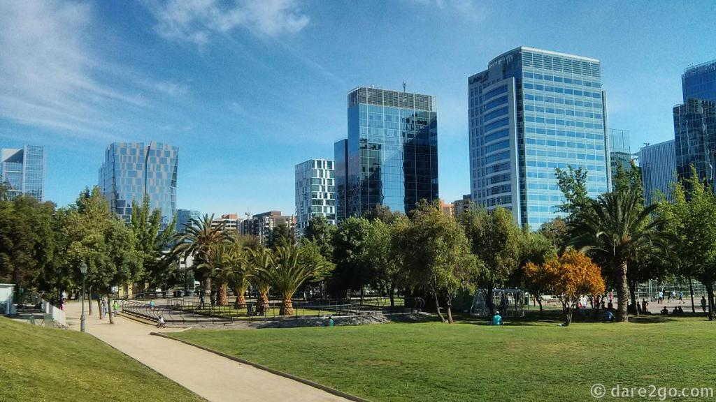 Santiago de Chile: Parque Araucania