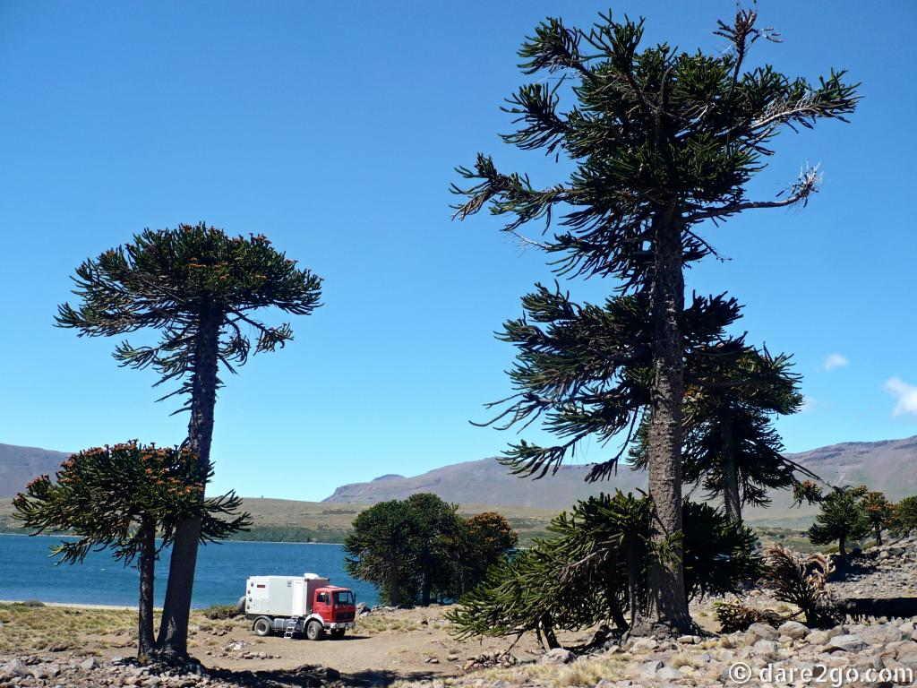 camping at Lago Agrio