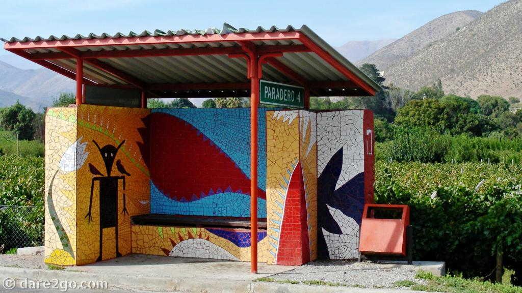 Paraderos Del Viento: Paradero 4 (a newer piece from 2013/14)