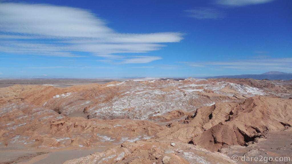 San Pedro: Cordillera de la Sal