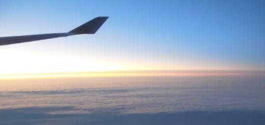 Yasha's plane crossing Antarctica.