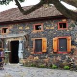 Caminhos de Pedra, near Bento Gonçalves in Brazil: restored Casa Angelo, now an Italian restaurant
