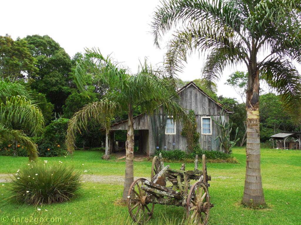 An idyllic rural scene in Rio Grande Do Sul, Brazil