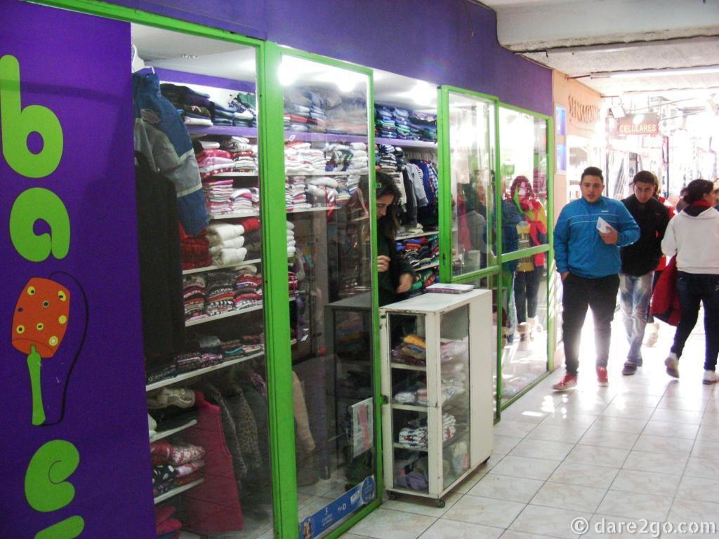 A shop the size of a shop window