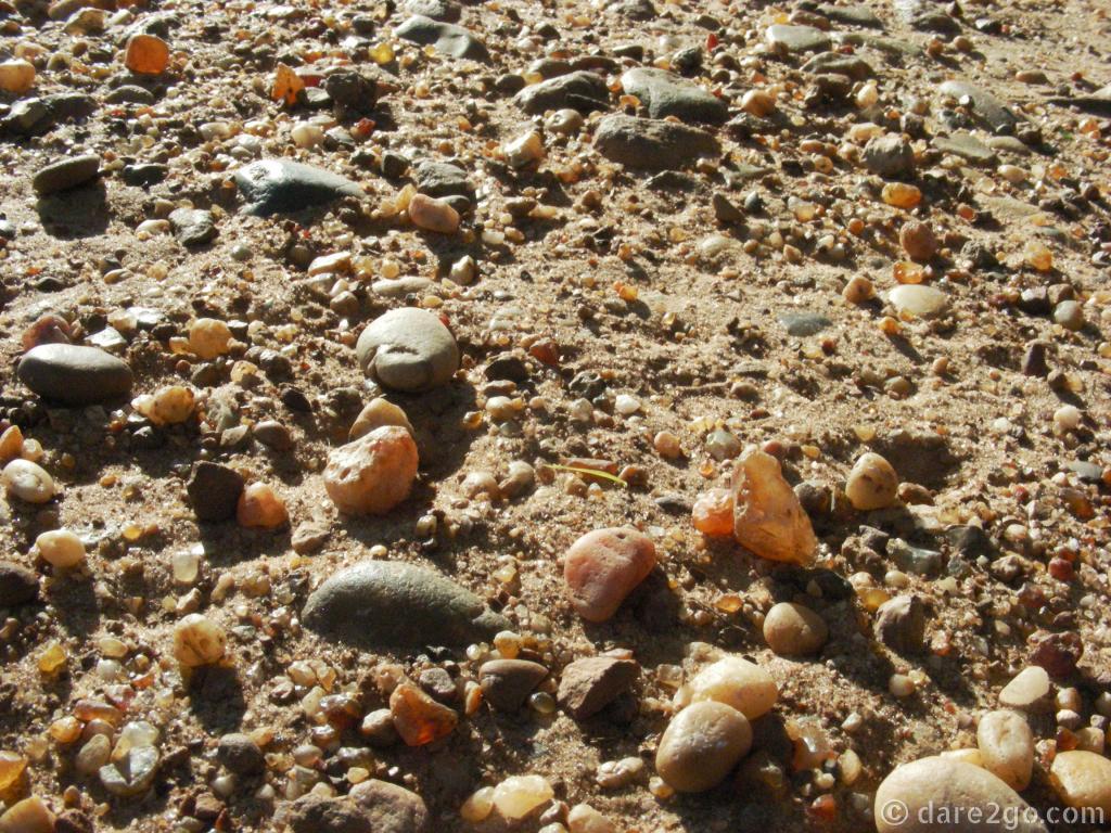 Rocks of the Rio Uruguay