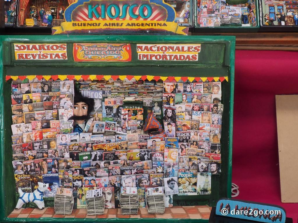 Cute Buenos Aires Diorama