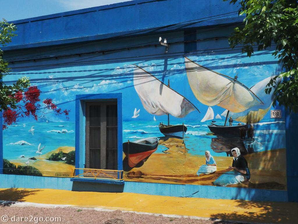 too new for guidebooks the murals of 25 de agosto dare2go mural