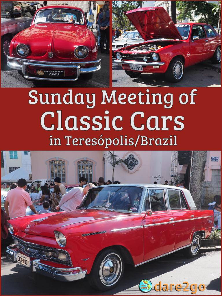 We happened to be in Teresópolis (state of Rio de Janeiro/Brazil) for their annual classic car meeting in early July. Many of the vehicles on display were unique for Brazil. Often large car producers created special models for the Brazilian market. Follow the link some of our photos!