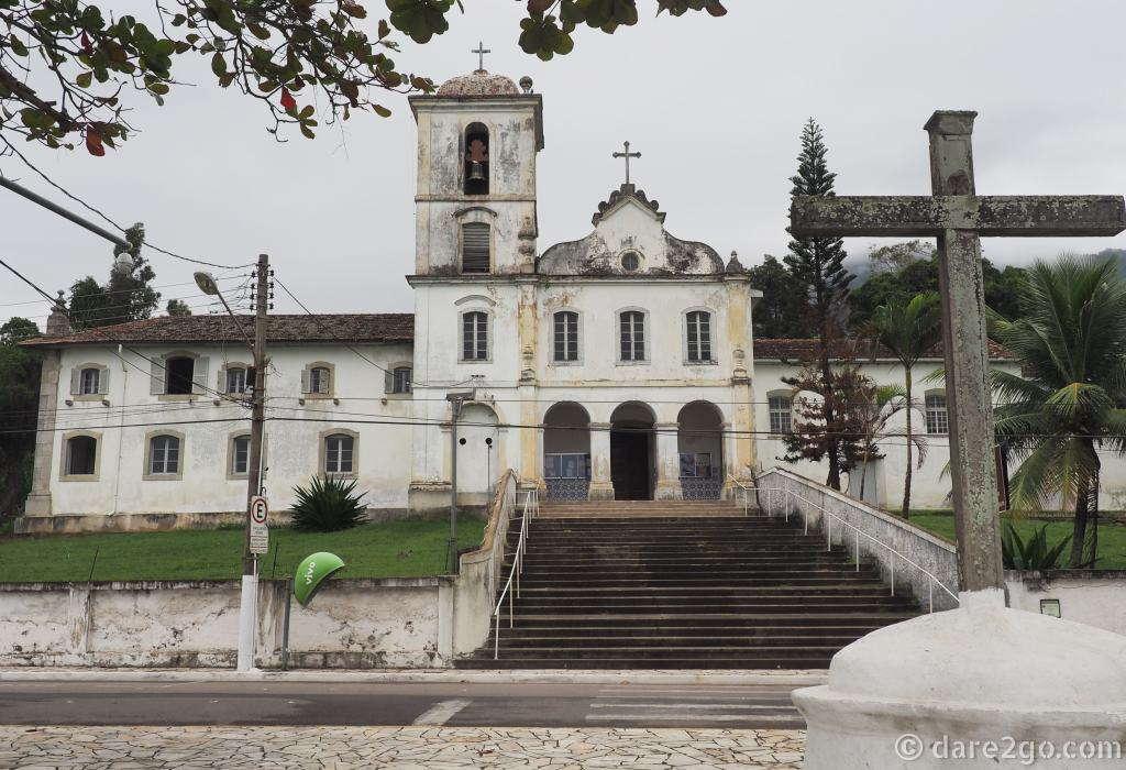 The historic cloister of Nossa Senhora do Amparo in Bairro de São Francisco.