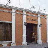 The outside of the Museo Santuarios Andinos, home to 'Juanita', a surprisingly well preserved mummy, which was found frozen in the Andes in 1995. Inside no cameras or smart phones are permitted.