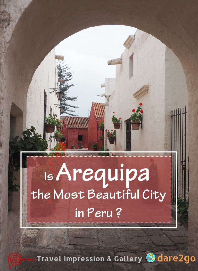 We think that Arequipa might be the most beautiful city in Peru. The historic centre is UNESCO World Heritage listed for its colonial houses. Most are built from locally quarried white sillar stone, even the painted ones. It certainly doesn't look or feel like the second largest city of Peru - until you hit a traffic jam at the fringe of the city... See our gallery post for a list of Arequipa's main attractions!