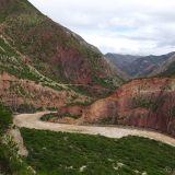 One of the impressive views down the river valley that we followed from Ayacucho to Huancayo.