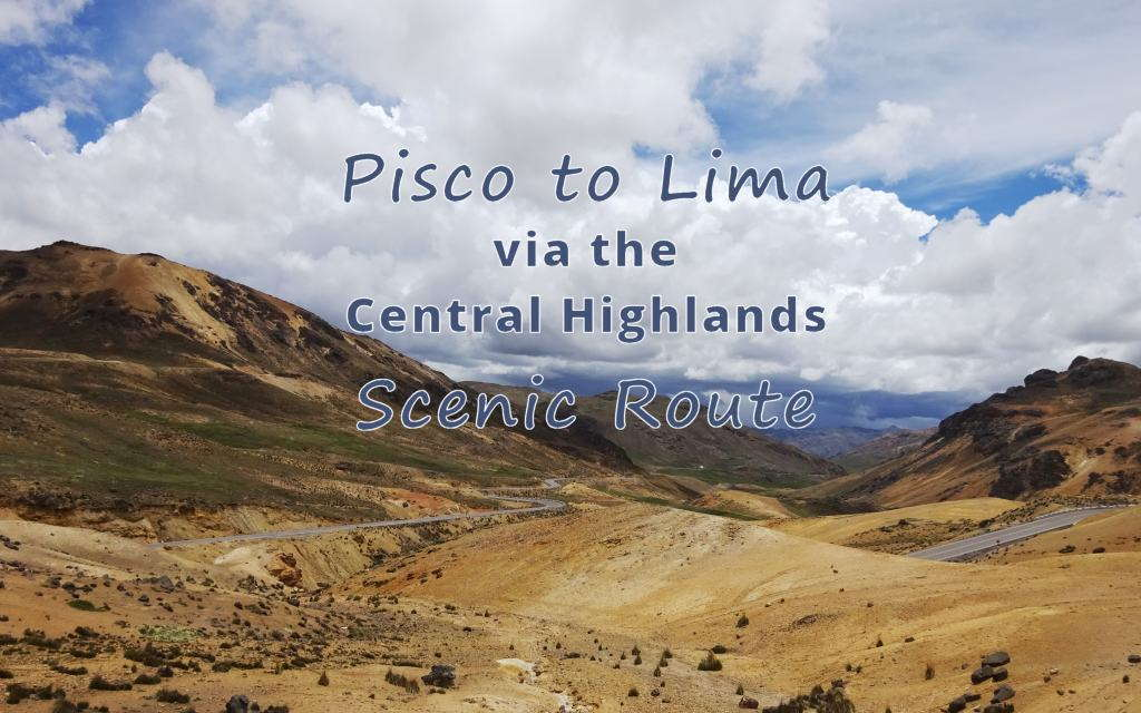 The mountains east of Pisco are some of the most scenic in Peru - we are glad we detoured...