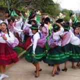 Carnival celebrations in Luricocha.