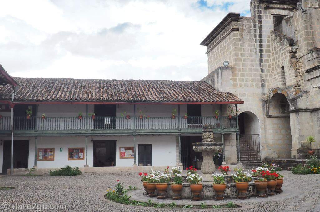 Cajamarca Belén Monumental Complex: the courtyard.