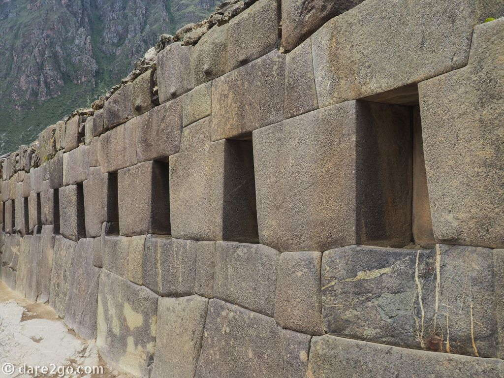 The short, but impressive Incan Empire is on display in this amazing stonework.