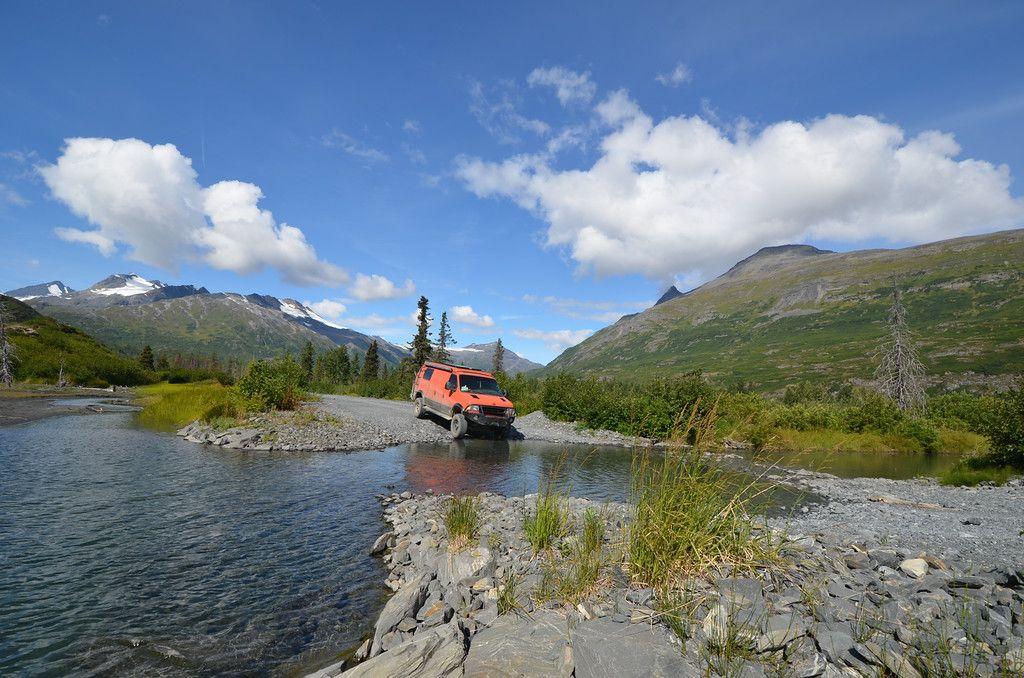 Exploring logging roads outside Valdez, Alaska August 2015