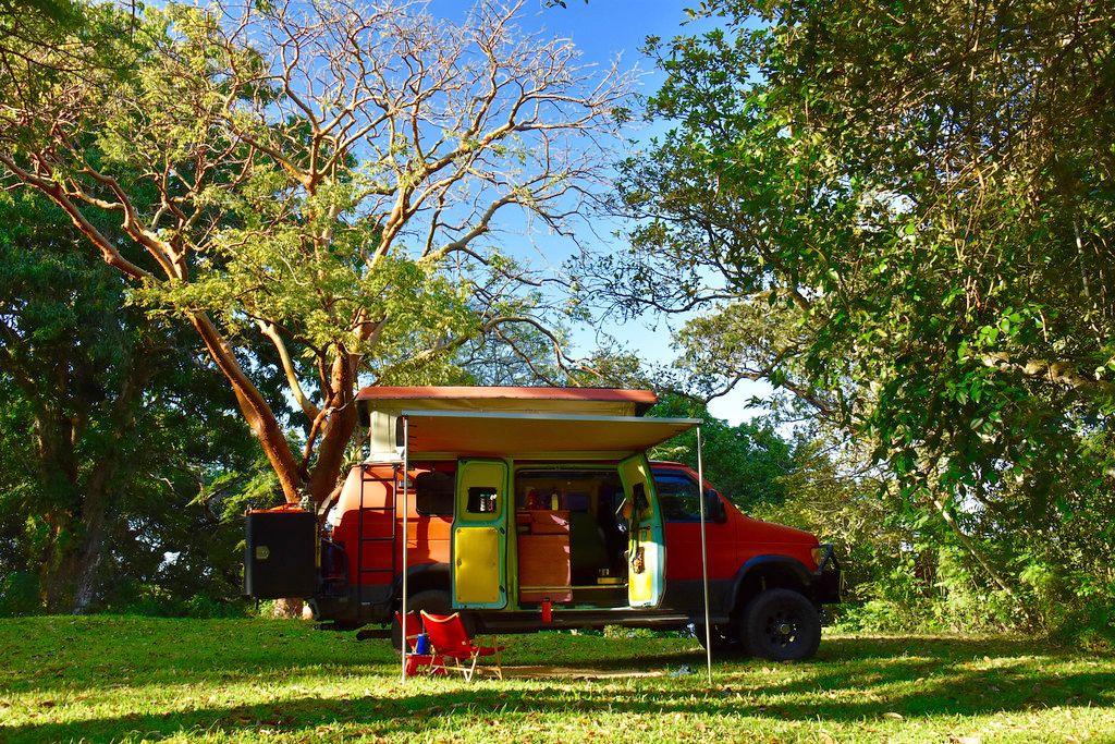 Jungle campsite in Veracruz near Lake Catemaco, Mexico March 2016