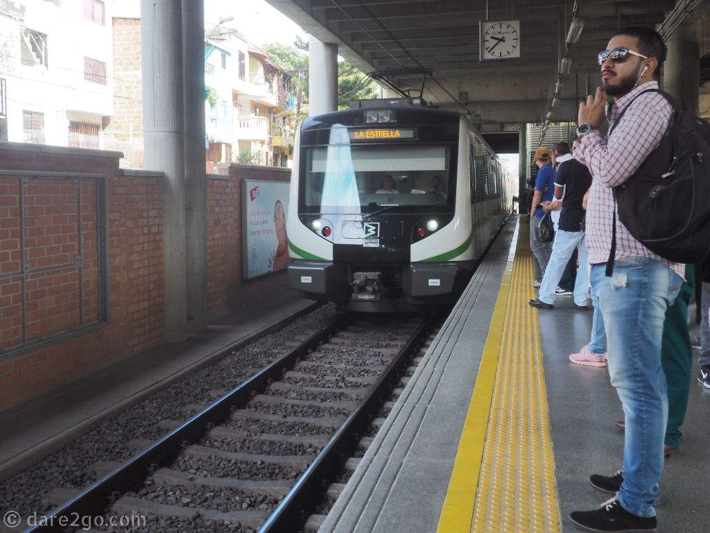 The Metro is an important transport link in Medellin, which was built against all odds. Therefore, the citizens are proud of it and treat it with respect; you won't find any graffiti or trash on the stations or inside the trains (unlike in other cities).