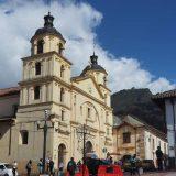 La Iglesia de Nuestra Señora de la Candelaria, in the historic centre of Bogotá.