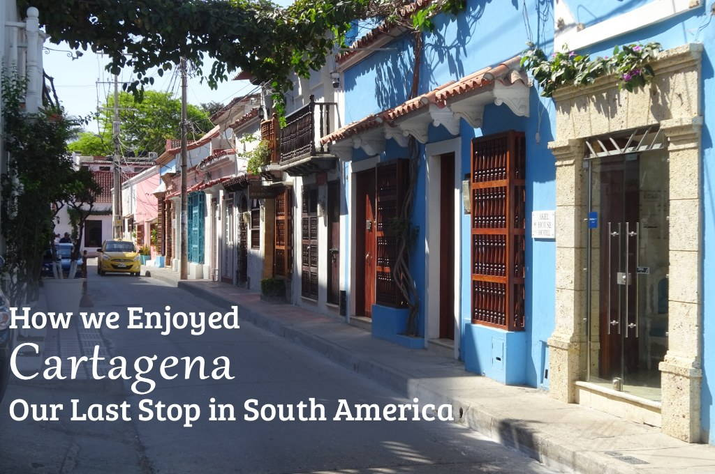 A very typical street in Getsemani: here's how we enjoyed the World Heritage listed colonial city of Cartagena in Colombia. Wandering the streets, eating the food, and seeing the historical sights.