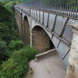 The Pontcysyllte Aqueduct, as seen from Trevor.