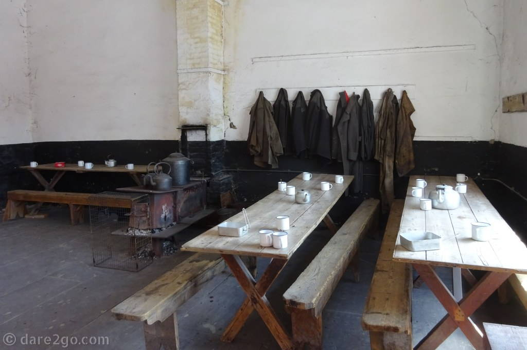 National Slate Museum Wales: the former canteen was also an important social meeting point.